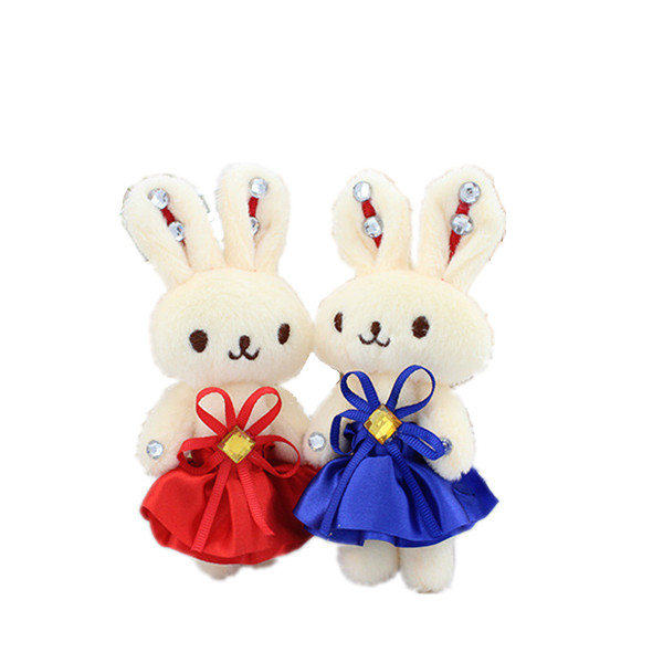 High Quality Plush Rabbit with Dress Gift for Girlfriend