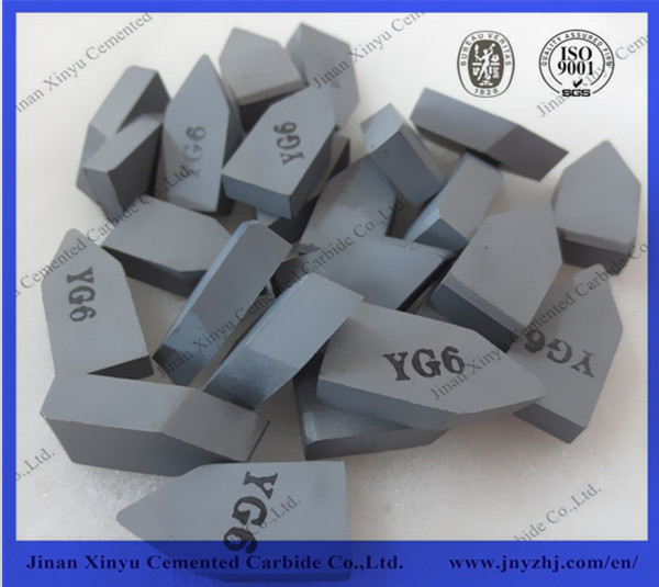 C120 cemented carbide brazed tips for cutting tool
