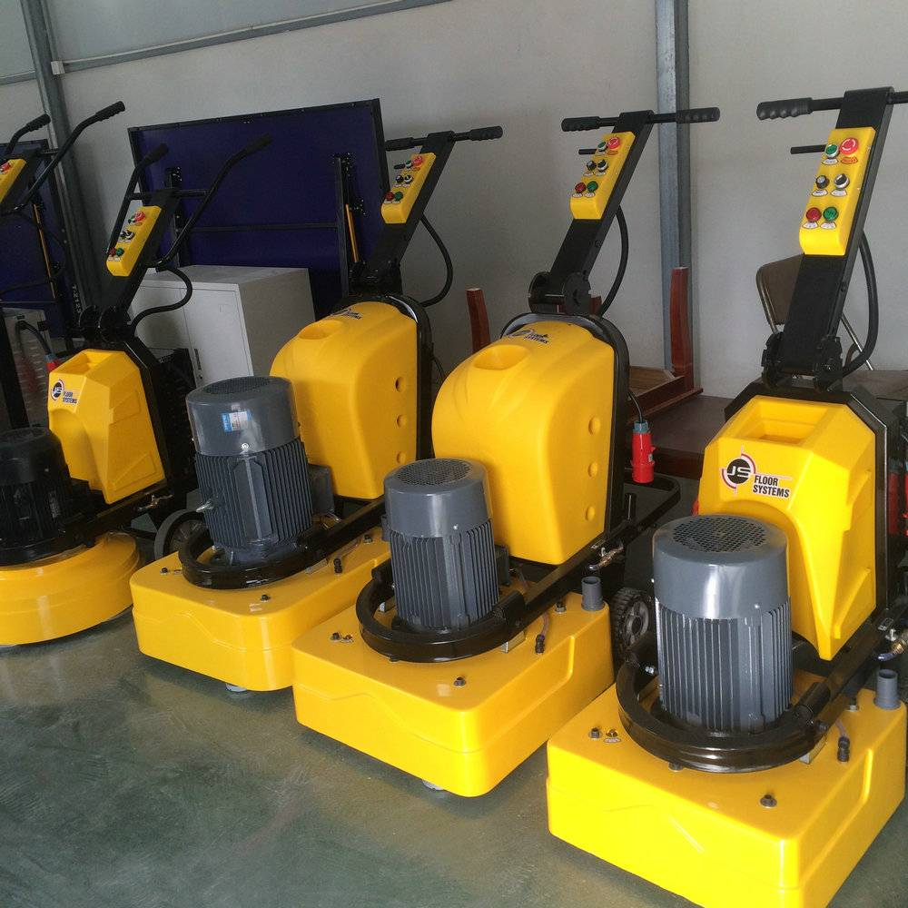 Four Heads concrete floor grinding machine