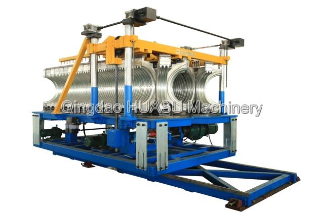 SBG500 UPVC Double Wall Corrugated Pipe Extrusion Line