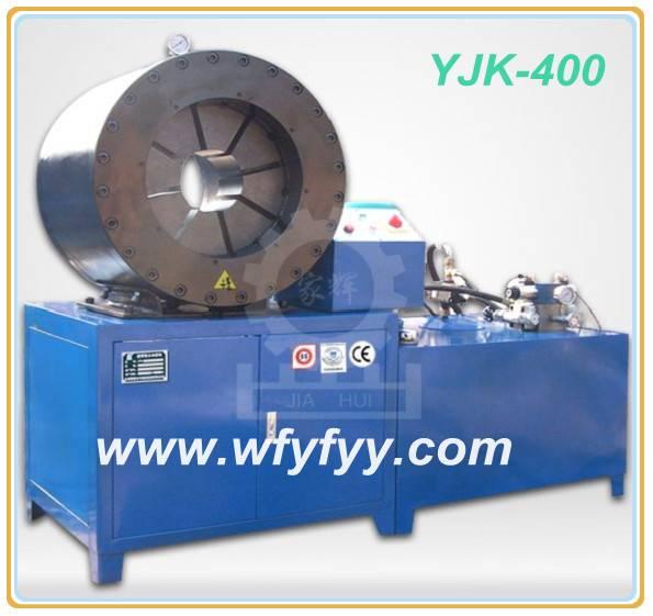 Heavy Duty YJK-400 Hydraulic Thick Hose Crimping Machine