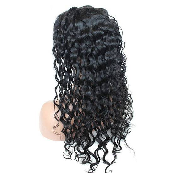 loose wave remy unprocessed indian full lace wigs