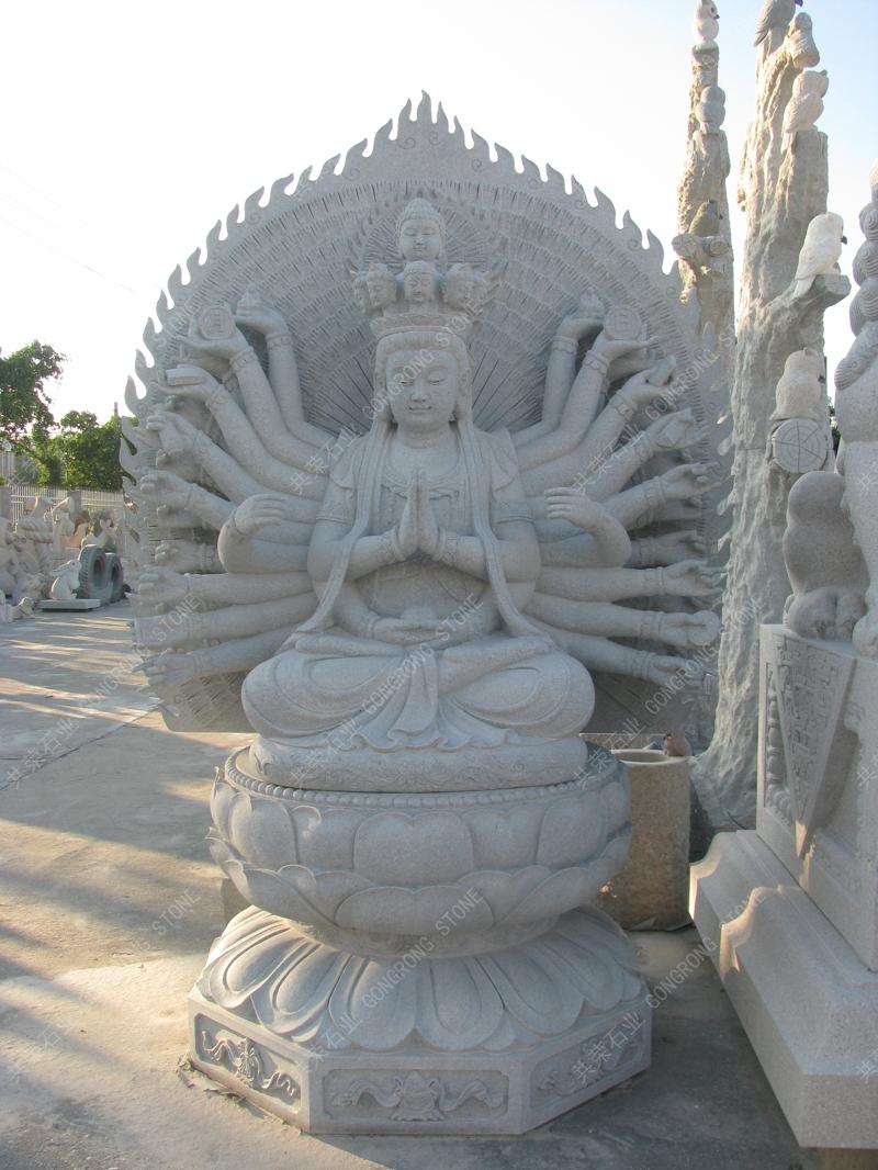 Thousand hand guan yin sculpture