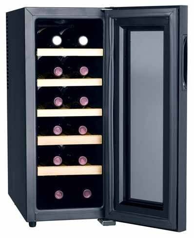 12 bottles thermoelectric wine cooler