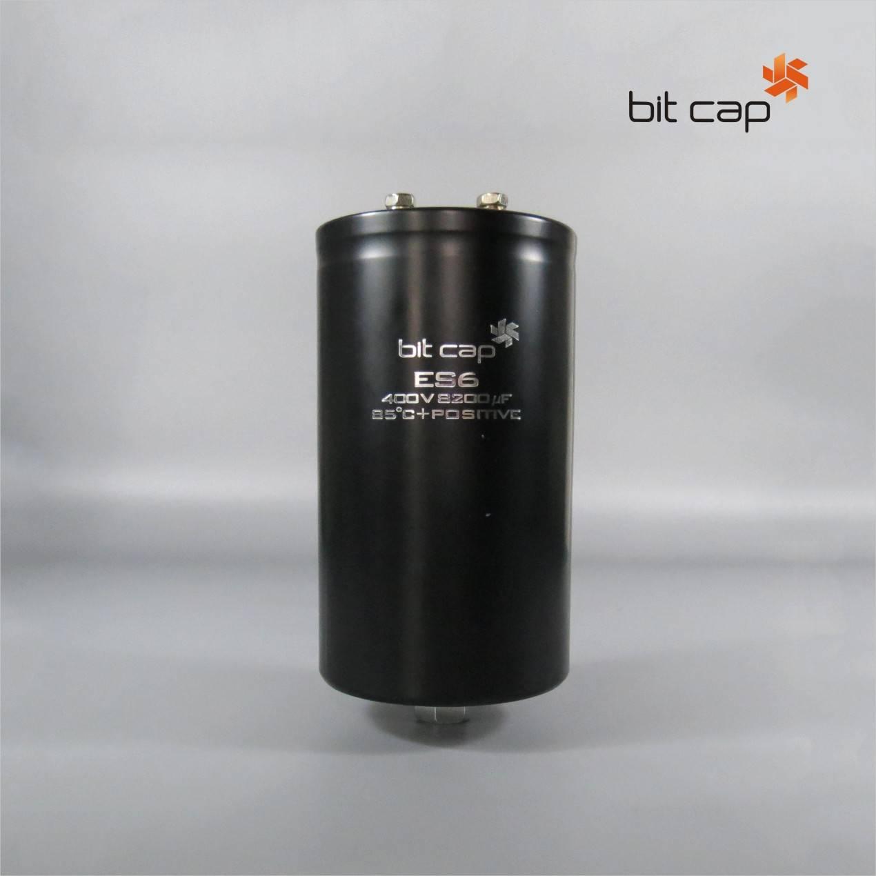 bit cap ES6  400V 8200uF  aluminum electronic capacitors