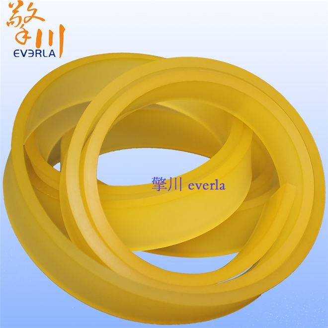 PU material sealing strip article polyurethane type roller industrial belt PU collagen material surf