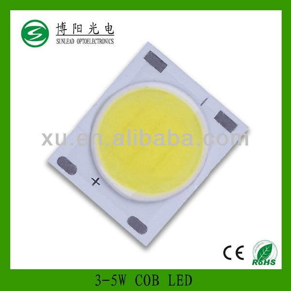 Aluminum square plate cob led light