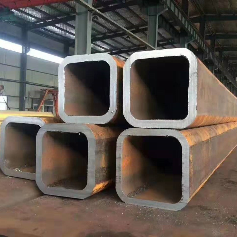 Cold drawn seamless square steel tube or hollow section