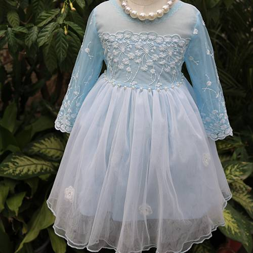 Beautiful designer one piece girl party dress princess costume for dance