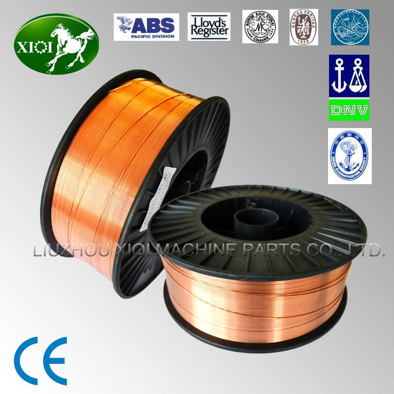 High-efficient welding wires E70T-1 with CE approved