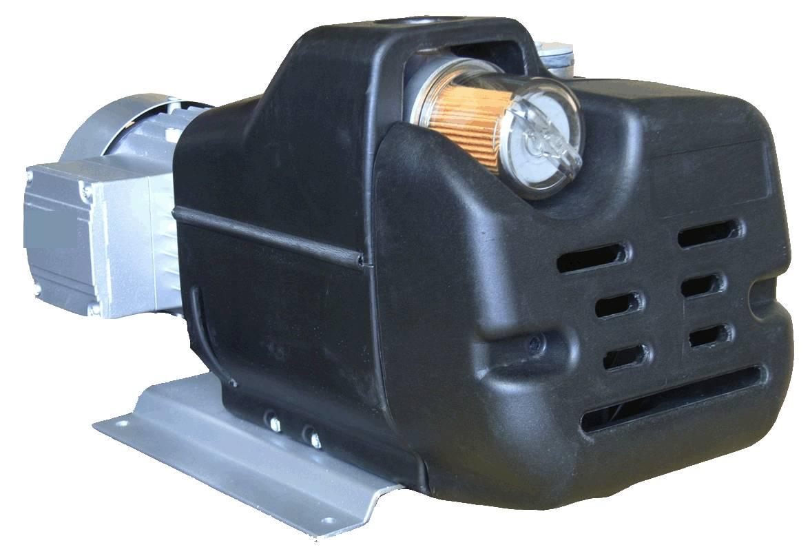 SIROCCO _ CE-Approved Oil-free Portable / Mini Vacuum Pump / Compressor _ IP55 & IE2 Motor_MAC / MAC