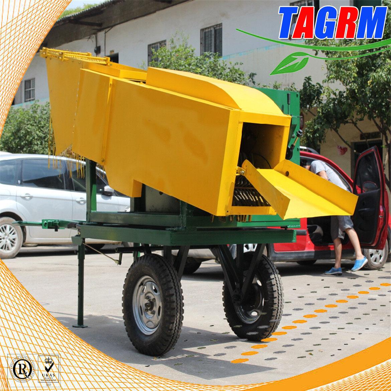 6BCT-5 sugarcane leaf peeler, sugarcane peeling machine