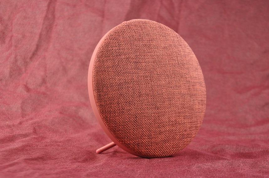 desktop bluetooth speaker in fabric design