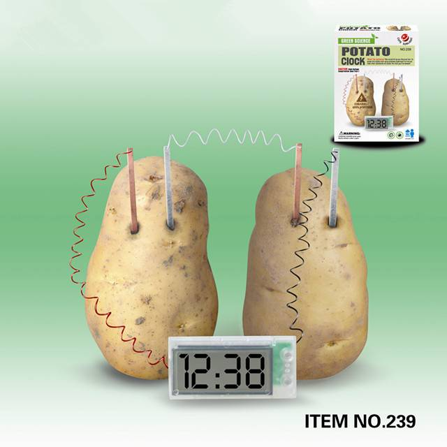 Potato Power Clock