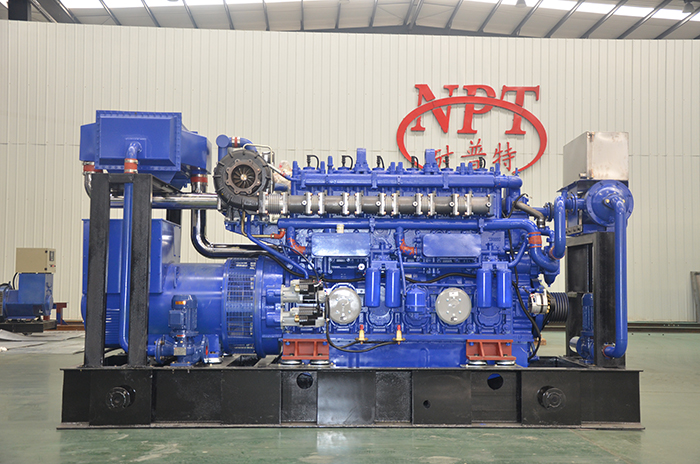 How natural gas generators work