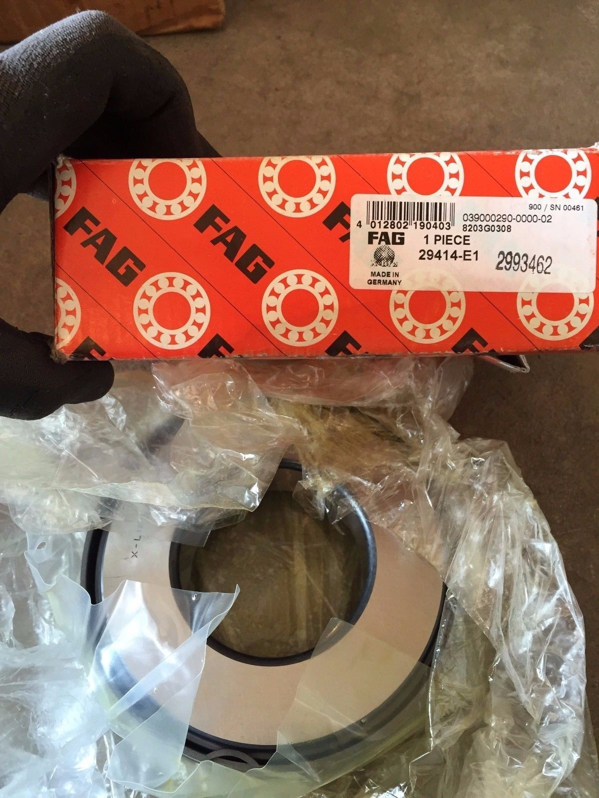 FAG 29414E1 Spherical Thrust Roller Bearing