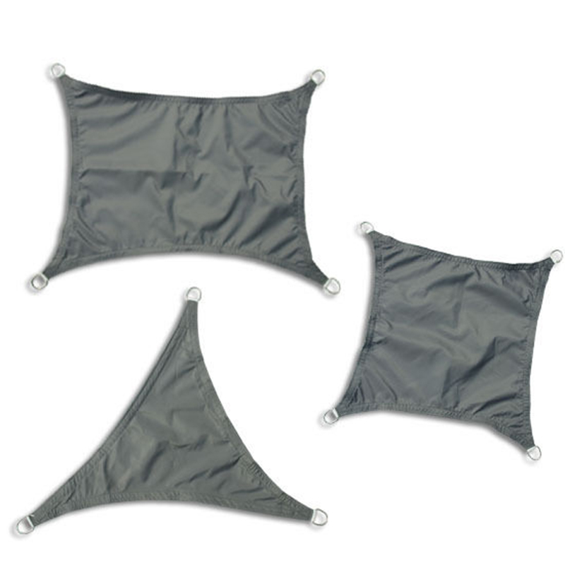 hot sale colourful cheap durable Polyester rain proof shade sail