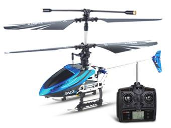 4CH RC Helicopter With Gyro Side Fly