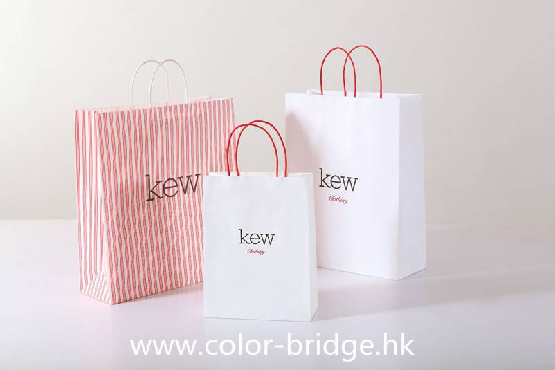 Hot Sale Customizing Kraft Shopping Paper Hand Bag Portable Gift Bag