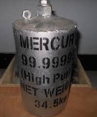 Prime Virgin Silver liquid Mercury = 99.9999% Pure by wt min