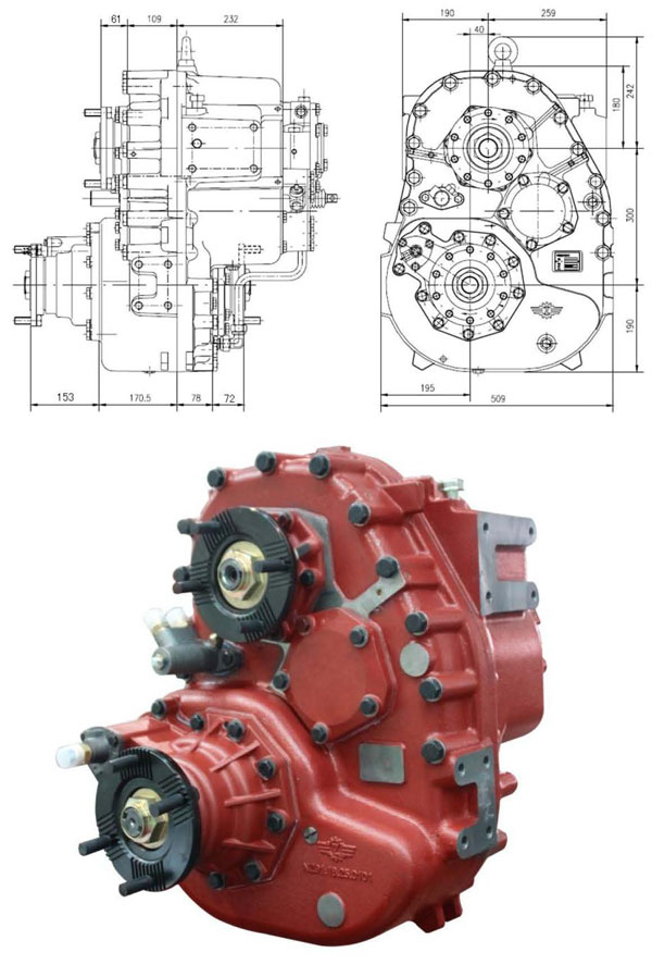 ZQC2000 transfer assy for all wheeled truck