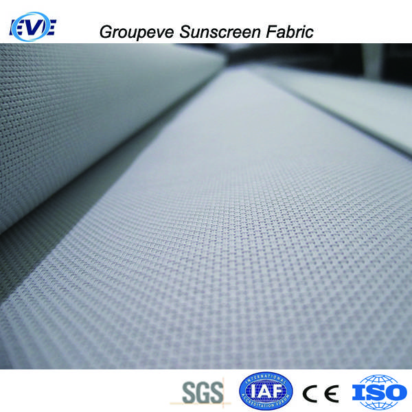 Exterior Roller Shades Outdoor Polyester Curtain Uv Block Sunscreen Fabric