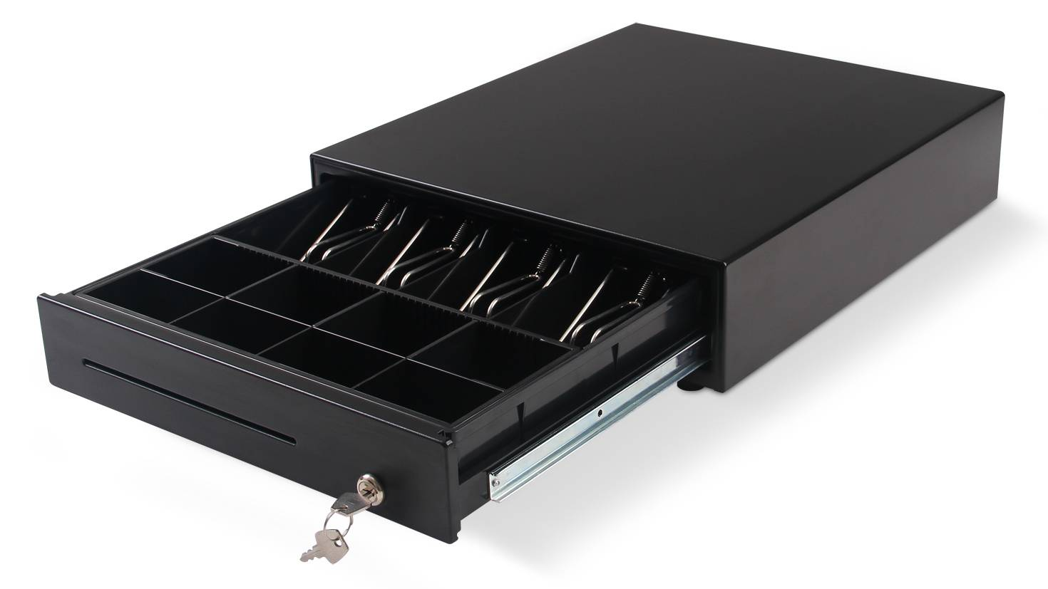 Heavy-duty Electronic slide Cash Drawer for pos system
