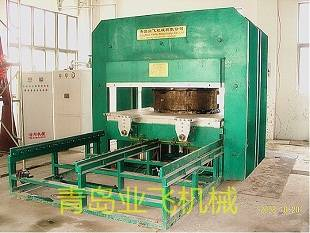 Bridge damping bearing  vulcanizing machine
