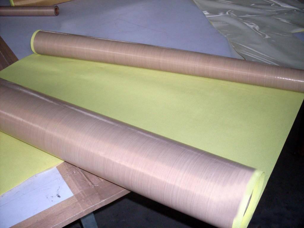 High temperature PTFE conveyor belt