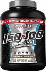 Dymatize ISO 100 Hydrolized Whey Protein Isolate, Gourmet Chocolate