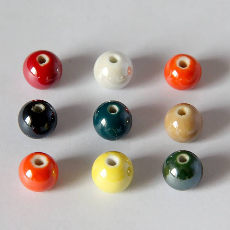 Colorful Ceramic Beads(10mm)