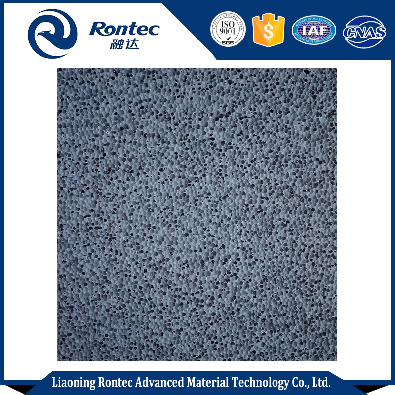 Cushioning closed cell aluminum foam with energy absorbing function