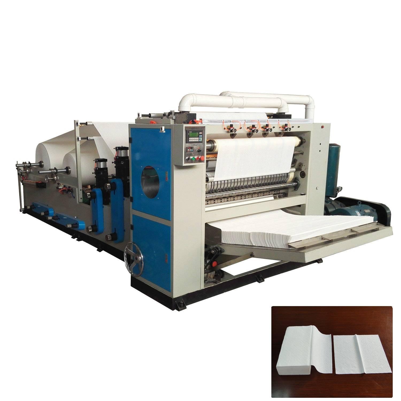 XY-BT-288 Full automatic V folding hand towel paper making machine
