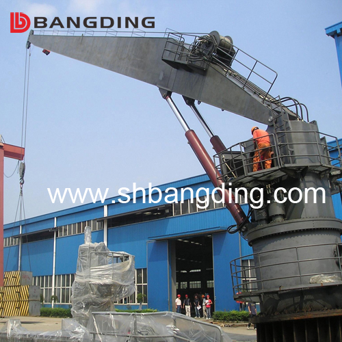 Electro Hydraulic Marine Deck Crane