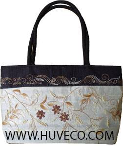 Embroider Silk Handbag