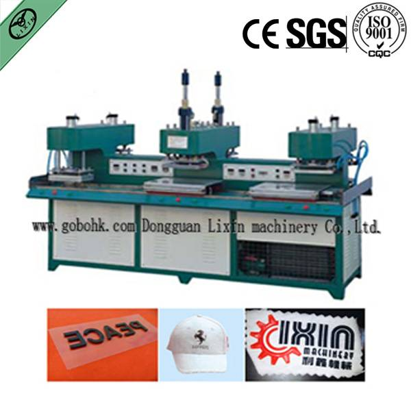 Liquid Silicone Label Making Machine On shirt