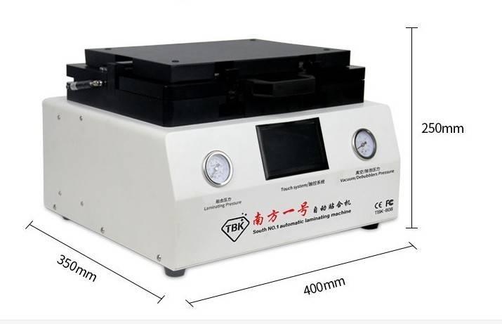 Mini Multifunction All-in-One OCA Laminating Machine 12inch Vacuum Laminator and Bubble Remover Mach