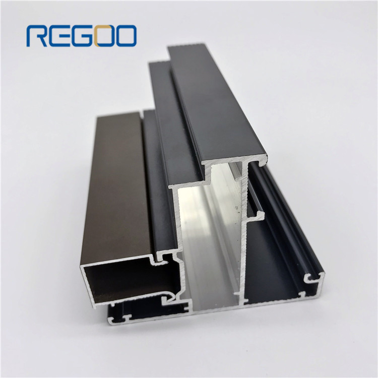 6063 t5 Extruded Aluminium Construction Profiles for Window,Door and Curtain Wall