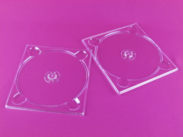clear single CD digi tray
