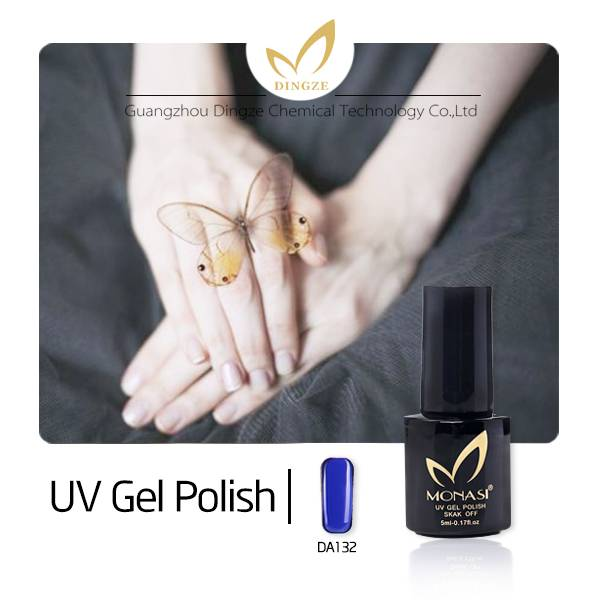 1KG three steps one steps soak off color led uv gel nail polish
