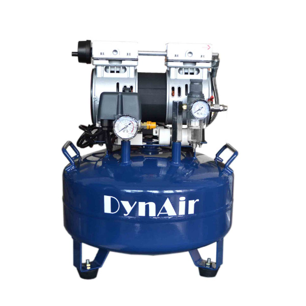 Air compressor for dental unit
