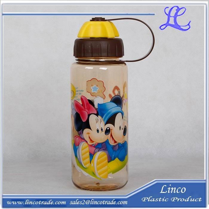 Portable Plastic Water Bottle For Children