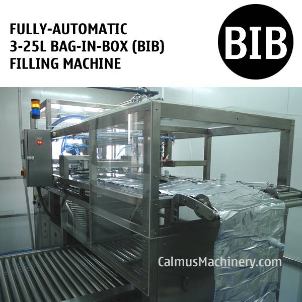 Fully-automatic 5L 10L 20L BIB Filler Bag in Box Filling Machine