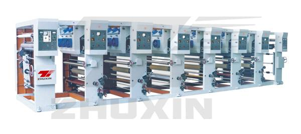 ASY-600 six color gravure printing machine