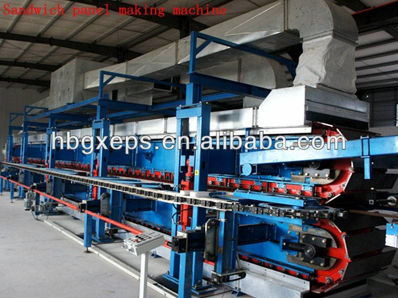 TUV Polyurethane Sandwich Panel Production Line