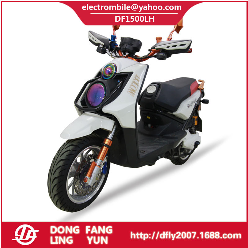 DF1500LH - EEC 1500w 60v electric scooter good quality electric motorcycle