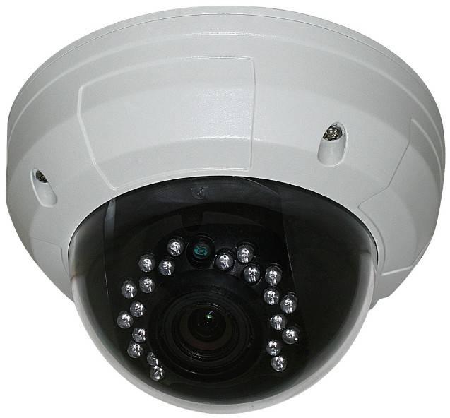 """1/3"""" CMOS3089 700TVL Dome camera With IR-CUT, 2.8-12mm, 21pcs IR LED, vandalproof camera"""