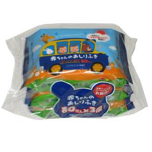 Japan Baby Wipes 'SMALL SHEET' 80sheets 3p/pack wholesale