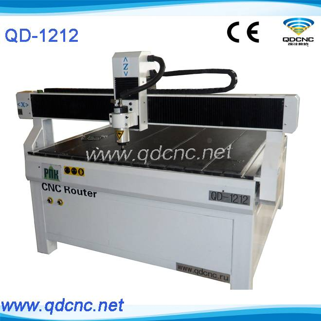 25% discounted acrylic cnc router/1212 cnc router QD-1212