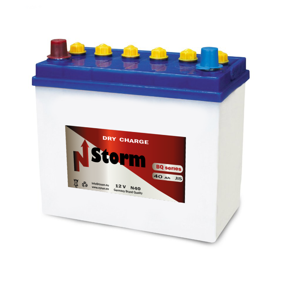 N-Storm Dry Charge Battery